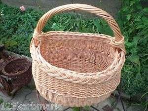 Fahrradkorb kleiner Einkaufskorb Handkorb Weidenkorb