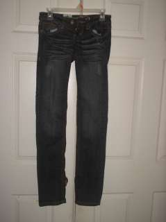 Request Jeans Dark Blue 4 Pockets Stretch Jeans Size 3 883069561824