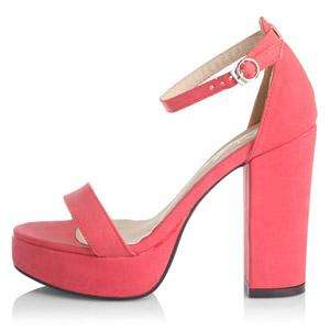 Vogue Lady Platform Pump High Heels Buckle Sandal Shoes
