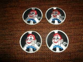 VINTAGE 1971 Howdy Doody NBC Network Patch Lot