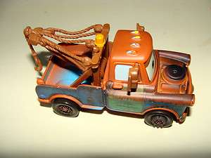 * CARS * Rare Brown with Fixed Eyes MATER   Collectors Item