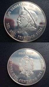 Mex Medal Tierra Del Centauro Del Norte Pancho Villa Un