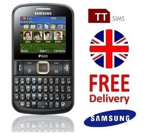 Samsung Chat 222 Dual Sim   Brand New Unlocked Sim Free   E2222 UK