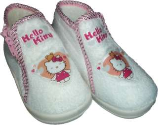 NEW Sanrio Hello Kitty Furry Zipper Bootie Shoes Sz 22