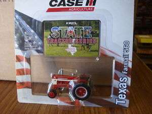ERTL 164 CASE IH FARMALL 560 State Series TEXAS ON SALE!