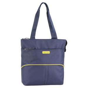 DOWNHAUL NAVY YELLOW 16 BOAT TOTE CARRYON $110 VALUE NEW