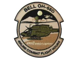 WARRIOR 400,000 COMBAT FLIGHT AVIATION ARMY BELL HELICOPTER PATCH
