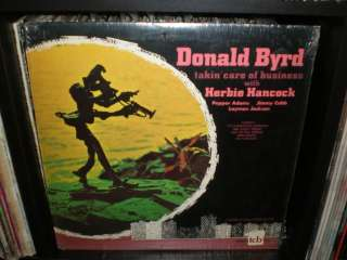 NM LP DONALD BYRD HERBIE HANCOCK Takin Care Of Business