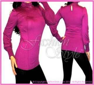 W73 – EVA Cozy Mocked Turtleneck Long Sleeve Dress Top