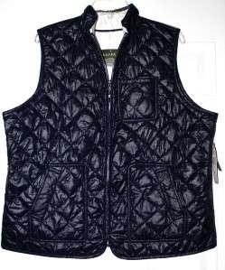 New $159 Ralph Lauren Petite Reversible Vest Medium