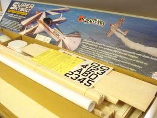 GREAT PLANES SUPER SKYBOLT R/C MODEL AIRPLANE KIT ** AEROBATIC