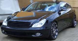 Mercedes Grill Kühlergrill CLS W219 SCHWARZ Brabus AMG