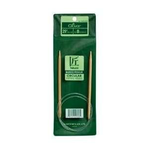 Clover Bamboo Circular Knitting Needle 29 Size 7 3016 29