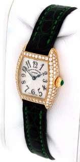 Curvex 2500 MC D ALL DIAMOND 18k yellow gold Ladies watch.