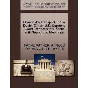Groendyke Transport, Inc. v. Davis (Elmer) U.S. Supreme