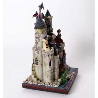 DISNEY TRADITIONS CASTELLO DEI CATTIVI JIM SHORE ENESCO
