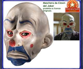 Maschera Costume Joker Batman Uomo Carnevale Halloween