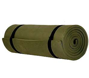 NATO SLEEP ROLL MAT military camping backpack olive SAS