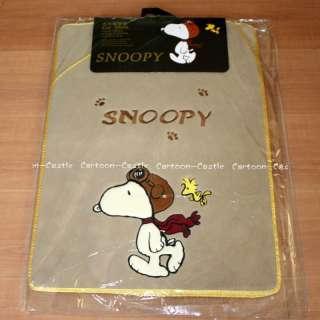 Peanuts Gang Snoopy Auto Car Plush Floor Mat Carpet 5pc
