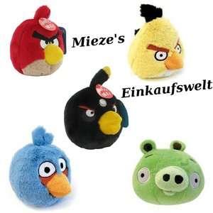 Angry Birds zornige Vögel mit Sound Schwein Plüsch Figur ca. 12 cm