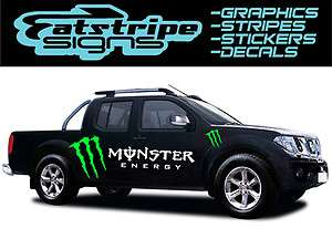 NISSAN NAVARA SPORT D22 D40 OUTLAW MONSTER CAR TRUCK GRAPHICS DECALS