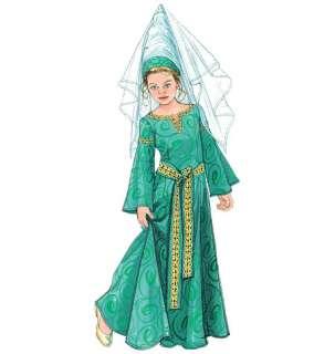 M 5499 Patron Robes Médiévales Enfant T3 8