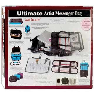 Just Stow It Ultimate Artist Messenger Bag   Martin Designs   Art