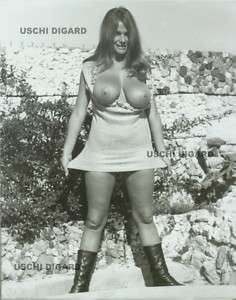 Uschi Digard 8x10 Original Print 1969 #067