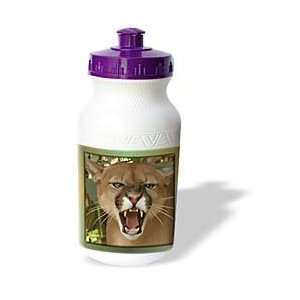 Susan Brown Designs Animal Themes   Cartoon Cougar   Water