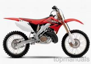 MANUAL TALLER HONDA CR 250 R WORKSHOP SERVICE CR250 R