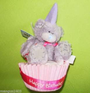 ME TO YOU BEAR HAPPY 1ST BIRTHDAY CUPCAKE GIFT TAGGED BNWT