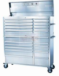 54 Stainless Steel Tool Box Chest Roll Cab Brand New