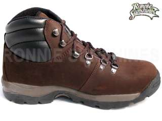 Hi Tec Quebec Mens Leather Waterproof Hiking Boots