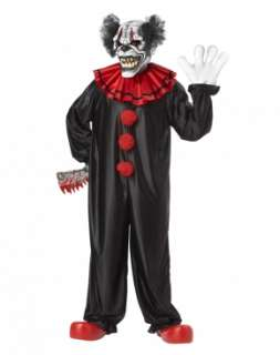 with red pom pom detailing red collar white gloves animotion mask the