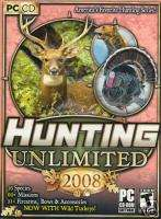 HUNTING UNLIMITED 2008 08 DEER/TURKEY/BEAR HUNTER NEW
