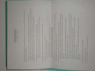 Características del anuncio Anillo de compromiso Tiffany&CO Nuevo