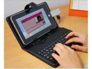 Funda con teclado para Tablet PC de 7 y 8 pulgadas. USB (11659206