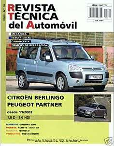 CITROEN BERLINGO/PEUGEOT PARTNER MANUAL DE TALLER RT180
