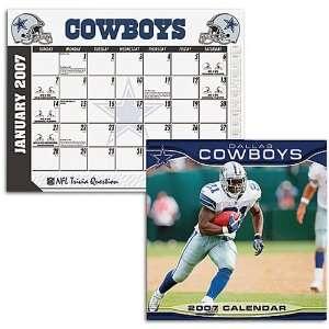 Cowboys John F Turner NFL Wall and Desk Calendar: Sports