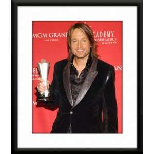 Keith Urban Framed And Matted 8x10 Color Photo Home