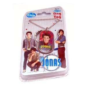 Jonas Brothers Kevin Dog Tag Keychain Necklace Toys