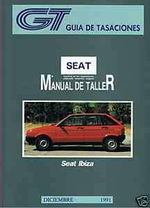 MANUAL REPARACION SEAT IBIZA , DIES Y SYSTEM PORSCHE