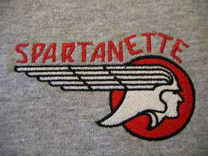 Spartanette Vintage Travel Trailer Logo T shirt