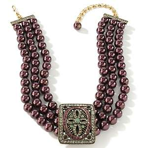 Heidi Daus Once Upon a Time Crystal 17 Beaded Necklace