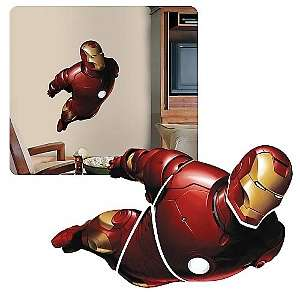 Iron Man Peel and Stick Giant Wall Applique