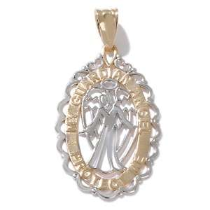Gold by Michael Anthony® 14K Guardian Angel Pendant