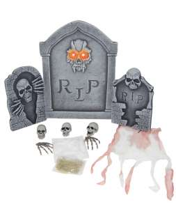 Transform your home or yard into a spooky graveyard with this Light up