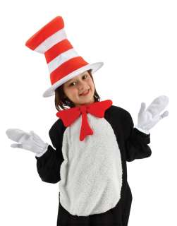 Cat in the Hat Bow Tie, Hat and Gloves Kit for Kids