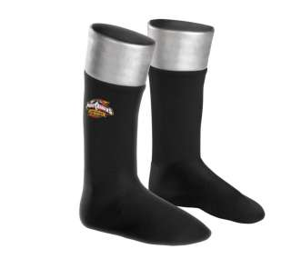Child Black Ranger Boot Covers   Power Ranger style boot covers have