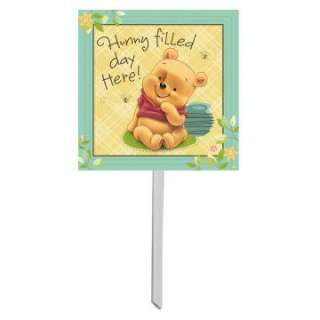 Baby Pooh and Friends Yard Sign     1636994